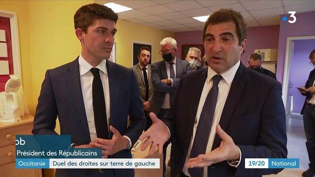 Élections régionales : Christian Jacob et Marine Le Pen en campagne à Nîmes