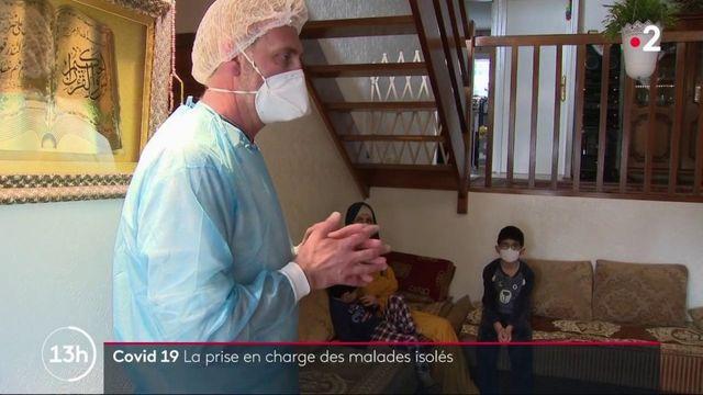 Covid-19 : l'accompagnement des malades isolés durant dix jours