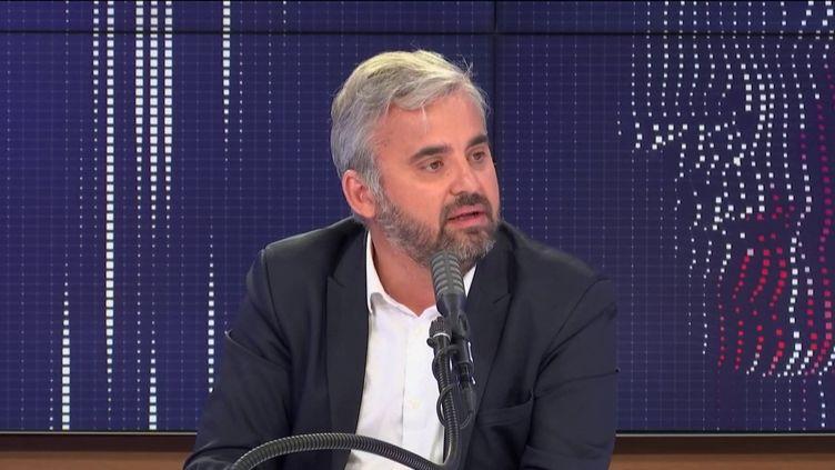 Alexis Corbière, invité de franceinfo mercredi 1er juillet 2020. (FRANCEINFO / RADIO FRANCE)