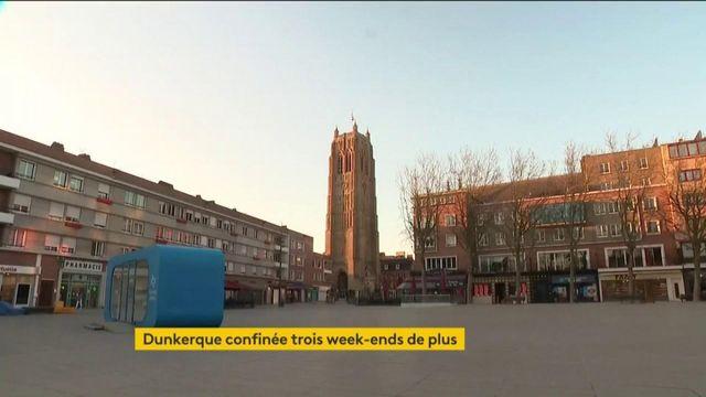 Covid-19 : Dunkerque confiné trois week-ends de plus