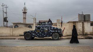 La villeHammam Al Alil (Irak) a été libérée de l'Etat islamique, le 30 novembre 2016. (OLYA MORVAN / HANS LUCAS)