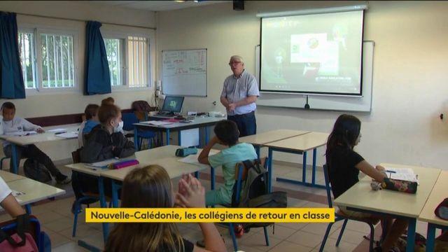 Coronavirus : l'école a repris avant le 11mai en Nouvelle-Calédonie