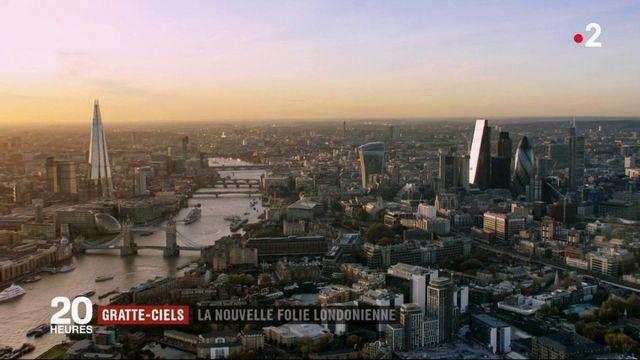 Gratte-ciel : la nouvelle folie londonienne