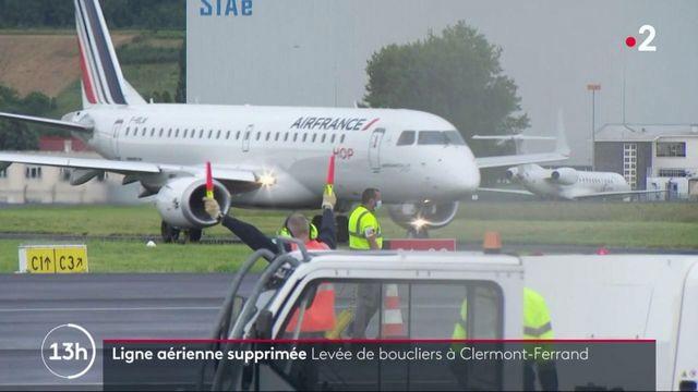 Auvergne : la région menacée par la suppression de lignes aériennes