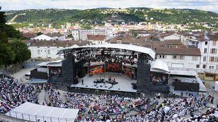 Jazz à Vienne : le Théâtre antique de Vienne  (PHILIPPE MERLE / AFP)