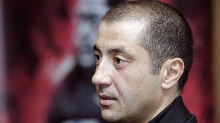 Mourad Boudjellal, le président du Rugby Club Toulonnais