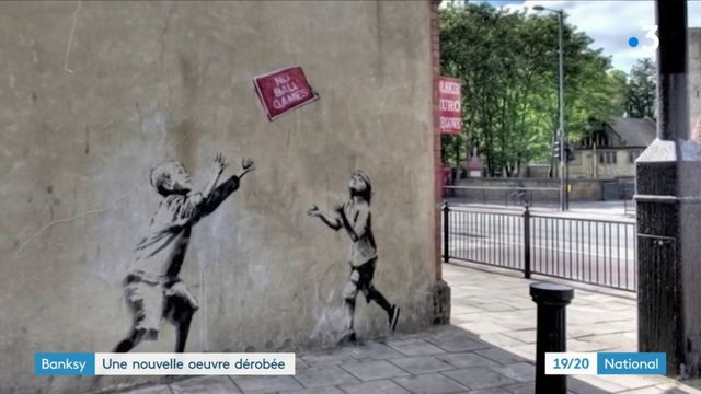 Banksy : une nouvelle oeuvre volée à Paris