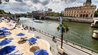 Paris plage. Un petit bain dans quelques années dans La Seine ? (LOIC LAGARDE / MOMENT OPEN / GETTY IMAGES)