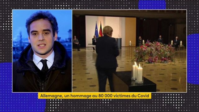 Allemagne : le pays rend hommage aux victimes du Covid-19