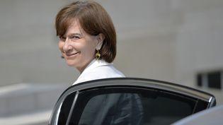 La secrétaire d'Etat à la Famille Laurence Rossignol arrive à l'Elysée pour le Conseil des ministres, le 23 juillet 2014. (MIGUEL MEDINA / AFP)
