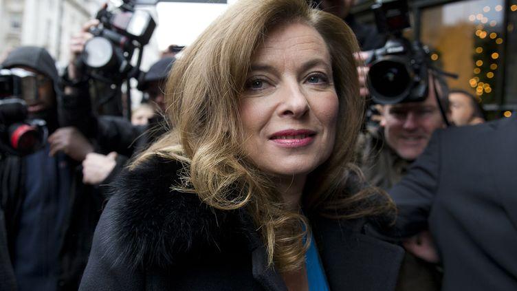 Valérie Trierweiler à Londres (Royaume-Uni), le 5 novembre 2014. (JUSTIN TALLIS / AFP)