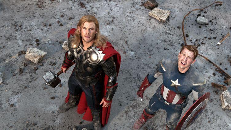 Une scène du film Avengers, en salles en France le 25 avril 2012. (ARCHIVES DU 7EME ART / AFP)