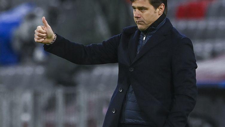Mauricio Pochettino va-t-il donner les mêmes consignes qu'au match aller à son équipe ? (CHRISTOF STACHE / AFP)