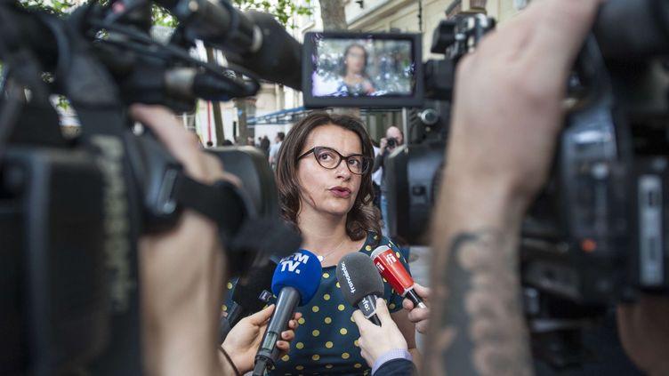 L'ancienne ministre Cécile Duflot, le 1er juin 2017 à Paris. (PATRICK GELY/SIPA)