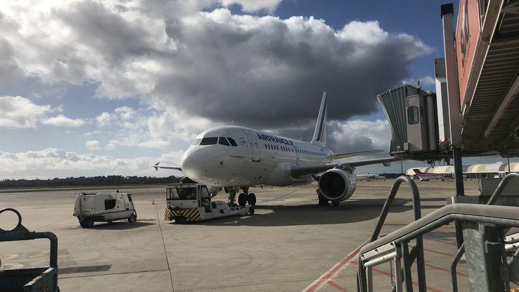 L'aéroport de Bordeaux Mérignac (Gironde). (CAMILLE HUPPENOIRE / FRANCE-BLEU GIRONDE)