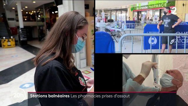 Pass sanitaire : les pharmacies prise d'assaut dans les stations balnéaires