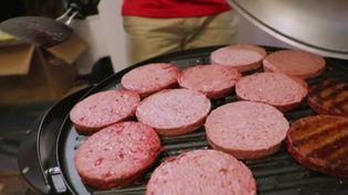 Les steaks végétaux font des adeptes chez ceux qui souhaitent réduire leur consommation de viande.Un marché qui n'a pas échappé aux géants de l'agroalimentaire. (CAPTURE ECRAN FRANCE 3)