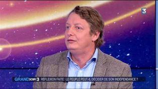 Michel Eltchaninoff, rédacteur en chef dePhilosophie Magazine. (FRANCE 3)