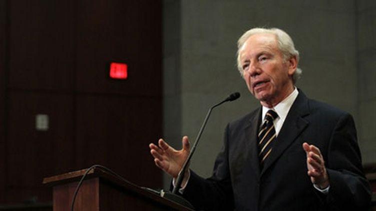 Joseph Lieberman, président de la commission de la Sécurité intérieure du Sénat américain. Février 2011. (AFP - Getty Images - Alex Wong)