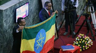 Passation de pouvoir en Ethiopie, Abiye Ahmed remplace Hailemariam Desalegn. (AFP/ Minasse Wondimu Hailu / Anadolu Agency)