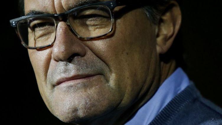 Artur Mas risque dix ans d'inélégibilité (PAU BARRENA / AFP)