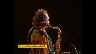 La saxophoniste Stan Getz. (franceinfo)