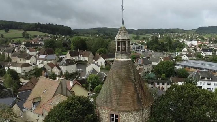Morvan : la maire de Luzy développe son village (CAPTURE D'ÉCRAN FRANCE 3)