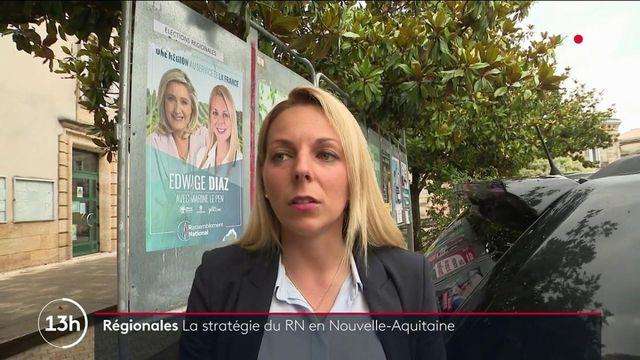 Régionales 2021 : la candidate RN en Nouvelle-Aquitaine au coude-à-coude avec le président socialiste