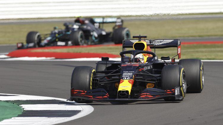 Max Vertsappen (Red Bull Racing), 2e du général après sa victoire à Silverstone, espère rester devant Valtteri Bottas (Mercedes-AMG Petronas). (ANDREW BOYERS / POOL / REUTERS POOL)