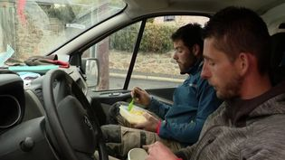 Repas entre ouvriers (FRANCE 3)