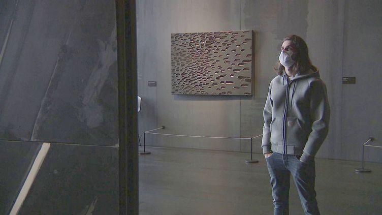 Le rappeur Lombre au musée Soulages à Rodez (France 3 Occitanie)