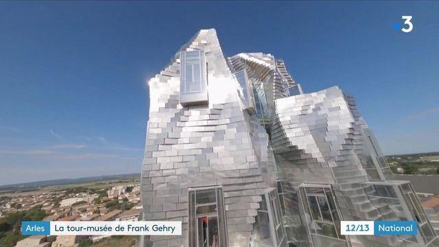 Bouches-du-Rhône : la Tour Luma à Arles ouvre ses portes au public
