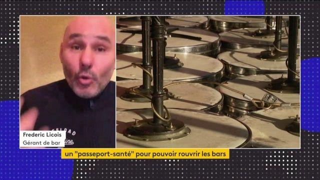 """Covid-19 : des gérants de bars et restaurants plaident pour un """"passeport-santé"""""""