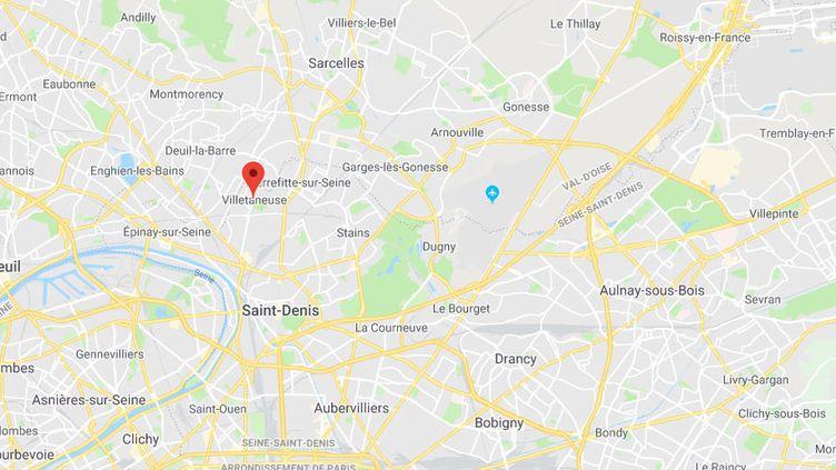 Villetaneuse, en Seine-Saint-Denis. (GOOGLE MAPS)