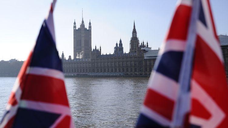 Le palais de Westminster où siège le Parlement britannique, à Londres (Royaume-Uni), le 20 janvier 2019. (DAVID CLIFF / NURPHOTO)