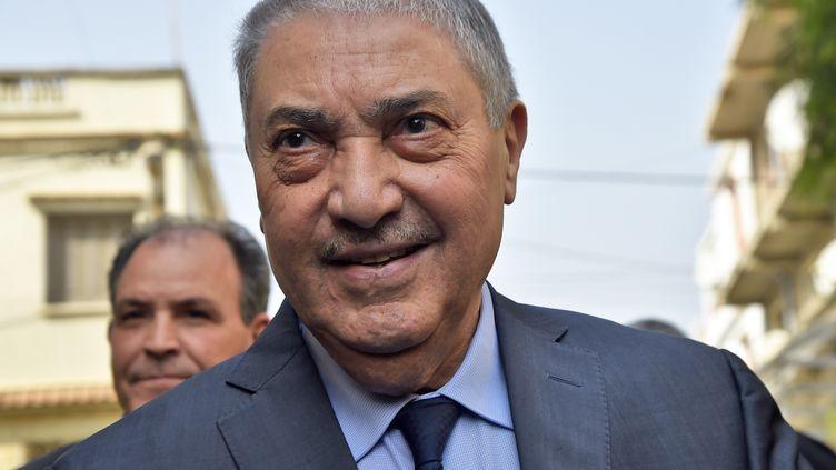 Ali Benflis, le 20 février à Alger. (RYAD KRAMDI / AFP)