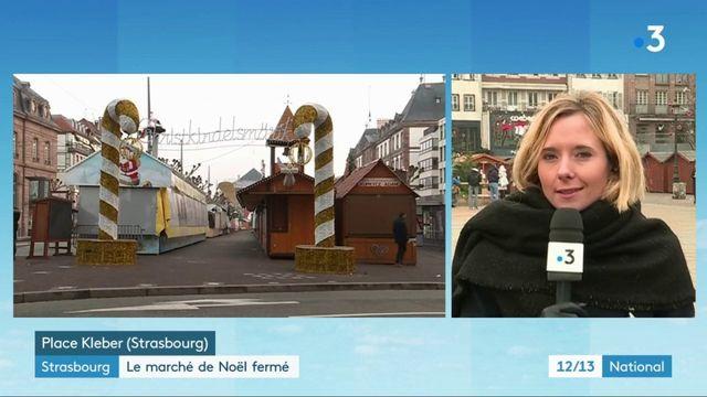 Attaque à Strasbourg : le marché de Noël fermé