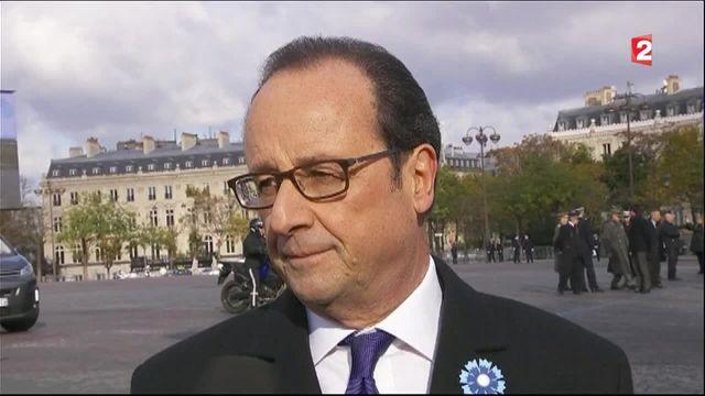 La dernière commémoration du quinquennat Hollande