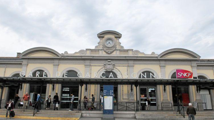 La gare de Carcassonne (Tarn), le 16 juin 2016. (MAXPPP)