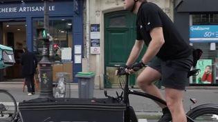 Livreurs à vélo : des coopératives pour faire face aux grandes plateformes (France 3)