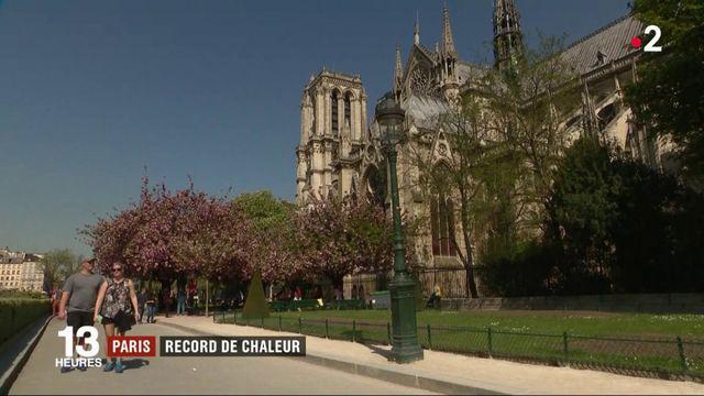 Paris : record de chaleur