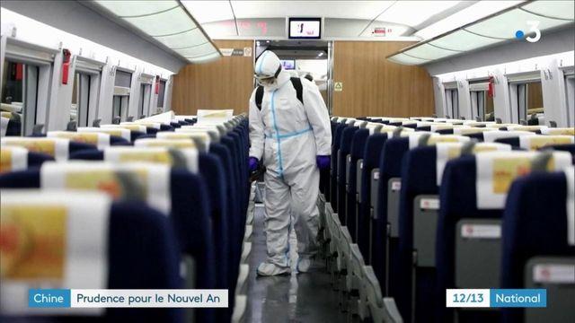 Chine : forte baisse des déplacements pour le Nouvel An2021