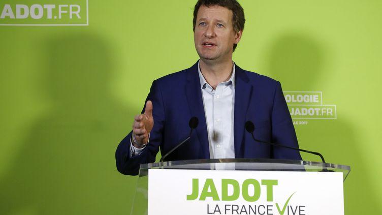 Yannick Jadot, le 9 février 2017. (FRANCOIS GUILLOT / AFP)