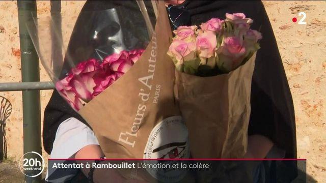 Attentat à Rambouillet : les habitants de la commune rendent hommage à la victime