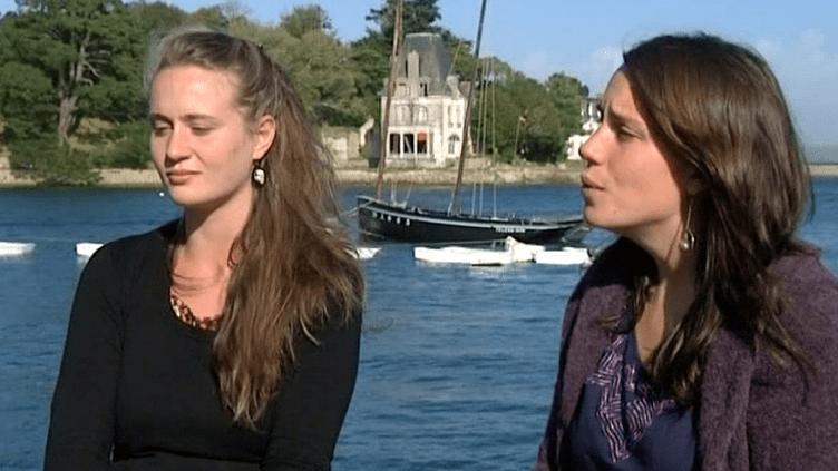 Hélène Jacquelot (à gauche) et Elsa Core ont créé la Cie Partir de là  (France 3 Culturebox)