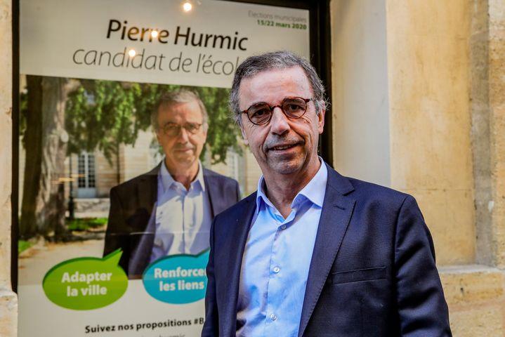 Pierre Hurmic, candidat écologiste à la mairiedeBordeaux, le 16 janvier 2020. (MAXPPP)