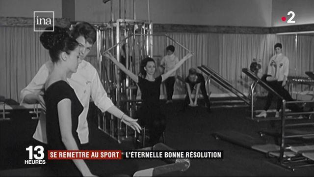 Faire du sport, une bonne résolution qui dure depuis les années 60