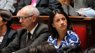 La ministre du Logement, Cécile Duflot, à l'Assemblée nationale à Paris,mardi 17 juillet 2012. (WITT / SIPA)