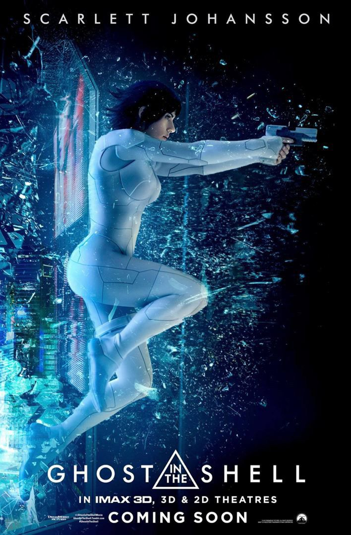 """""""Ghost in the Shell"""" : une pré-affiche américaine  (Paramount Pictures)"""