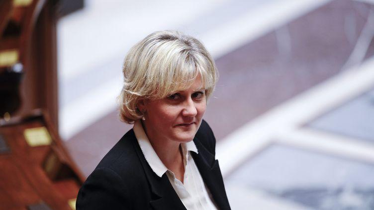 Nadine Morano à l'Assemblée nationale, le 10 janvier 2012. (  MAXPPP.)